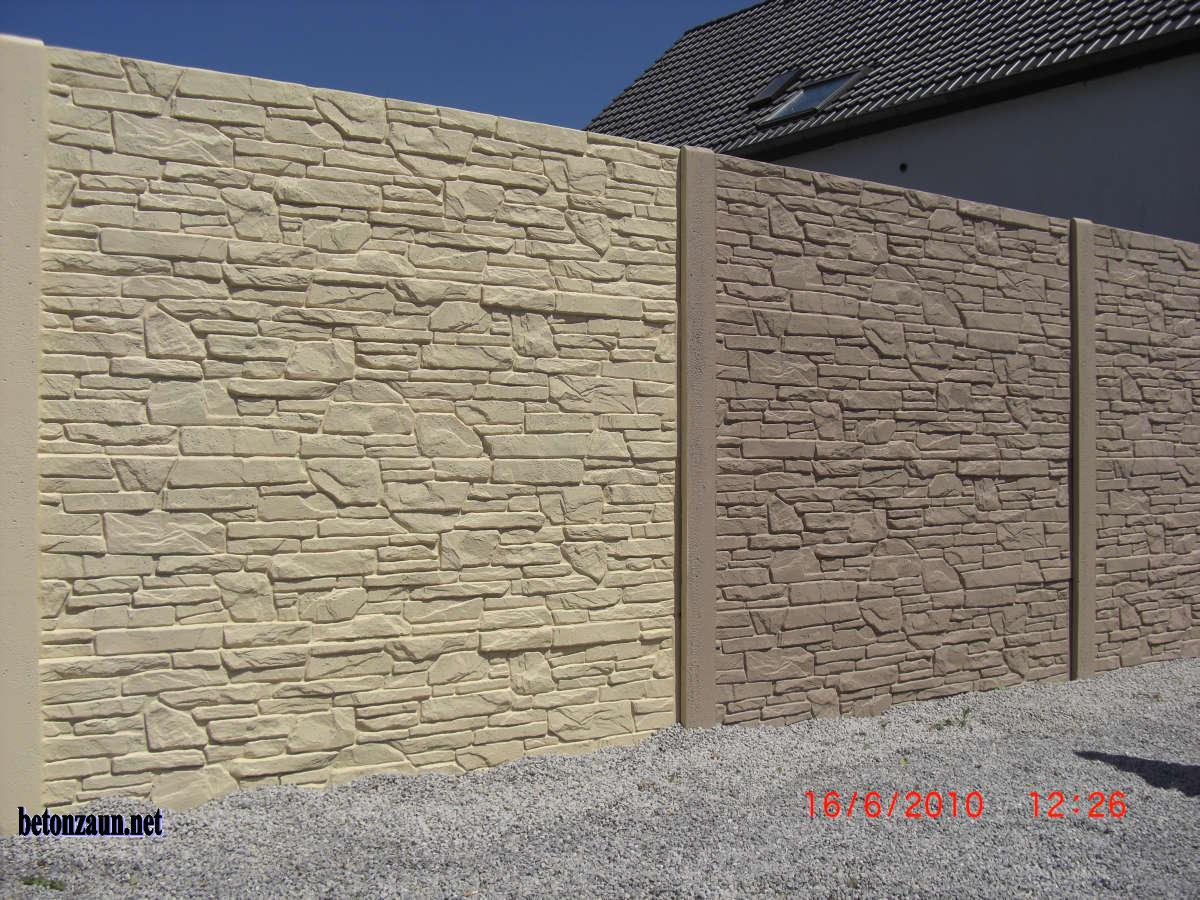 betonzaun betonz une l rmschutz sichtschutz betonwand mauer gartenzaun gabionen ebay. Black Bedroom Furniture Sets. Home Design Ideas