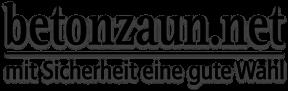 Betonzaun Logo